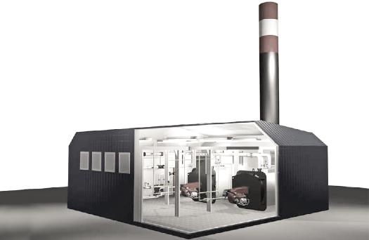 модульная газовая котельная