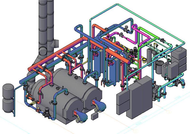 газовое котельное оборудование