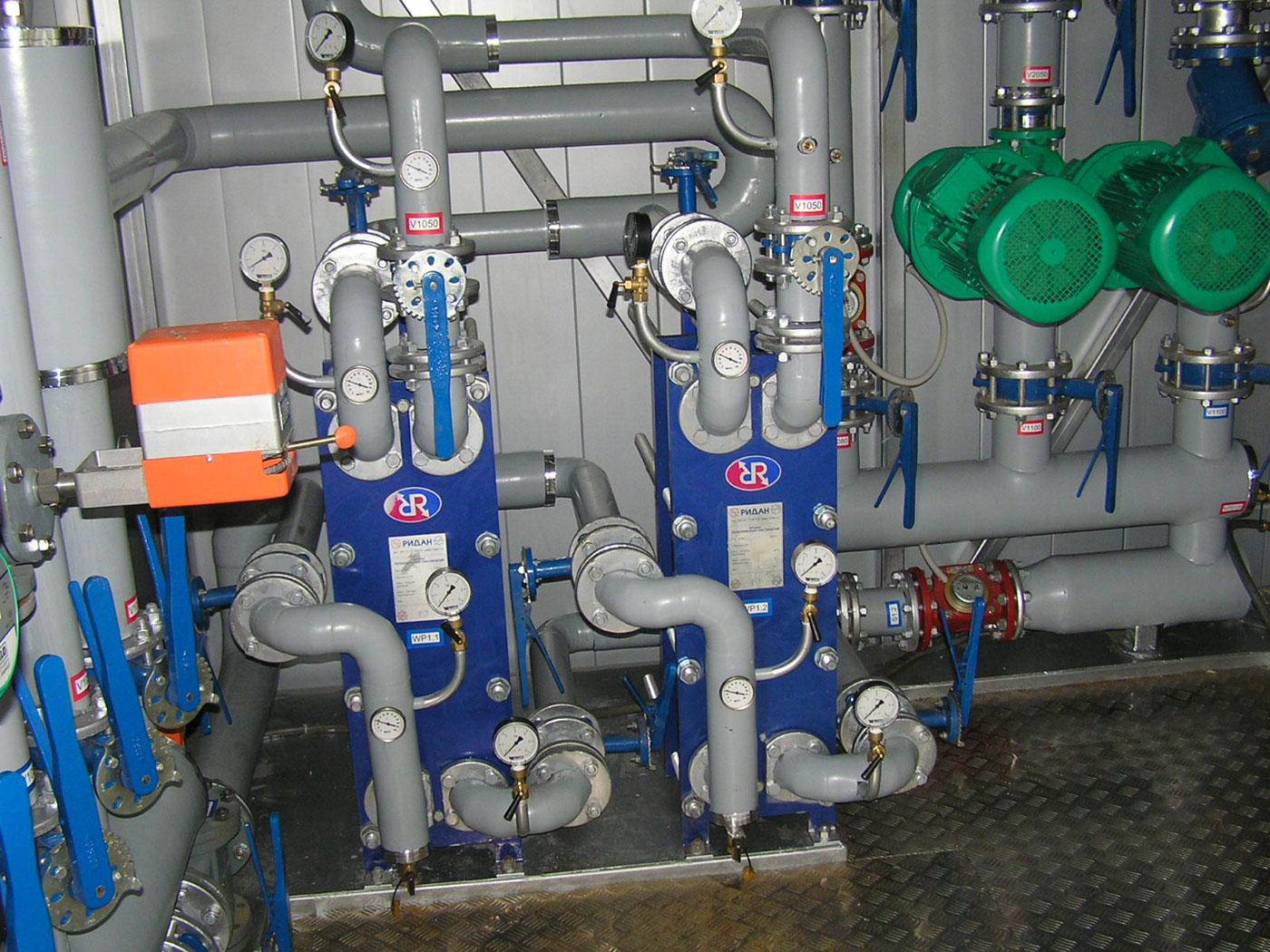 внутренний газопровод котельной