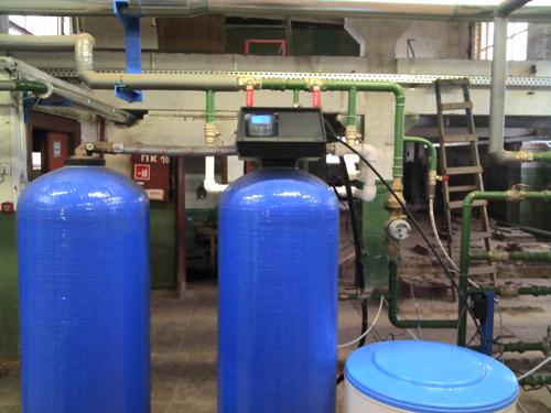 контроль оборудования водоподготовки