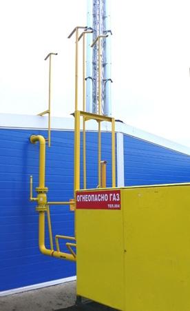 Строительство наружного газопровода